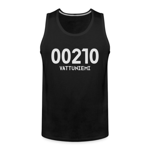 00210 VATTUNIEMI - Miesten premium hihaton paita