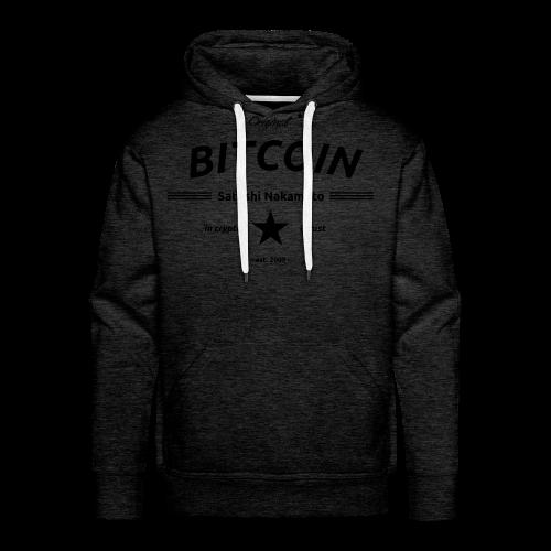 in crypto i trust Satoshi Nakomaoto BTC Bitcoin Ƀ T-Shirts - Männer Premium Hoodie