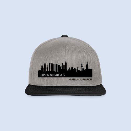 FRANKFURT MUSEUMSUFERFEST SOUVENIRS - Frankfurt Design #MUF - Snapback Cap