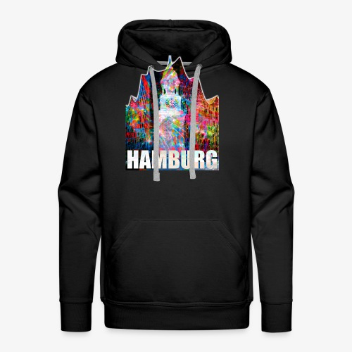 Elphi & Michel Hamburg Elbphilharmonie Frauen T-Shirt - Männer Premium Hoodie