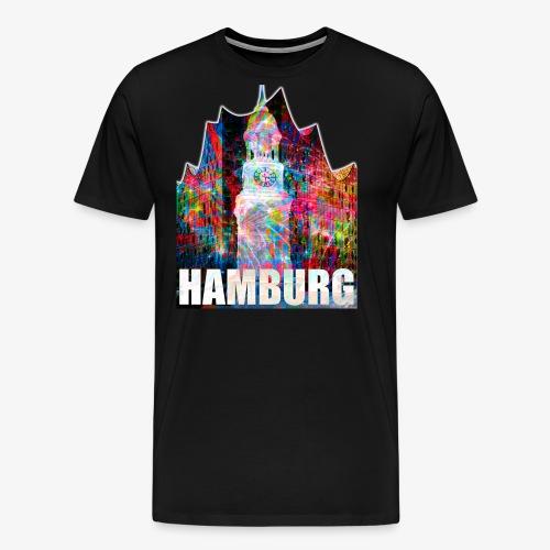 Elphi & Michel Hamburg Elbphilharmonie Frauen T-Shirt - Männer Premium T-Shirt