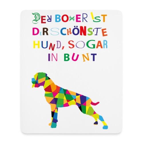 Für Boxerkinder - Mousepad (Hochformat)