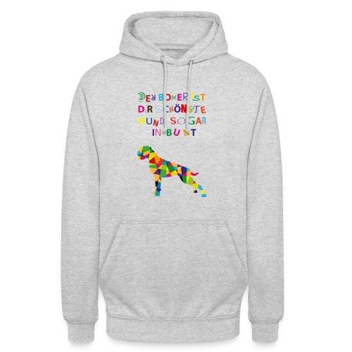Für Boxerkinder - Unisex Hoodie