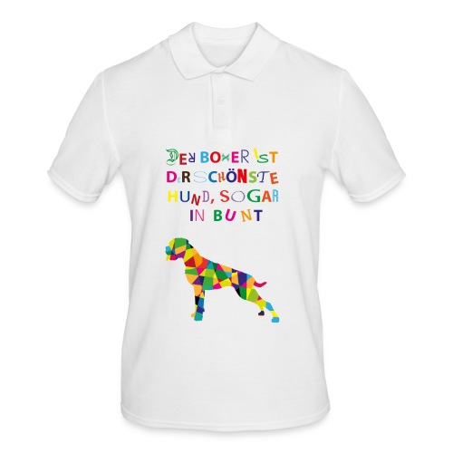 Für Boxerkinder - Männer Poloshirt