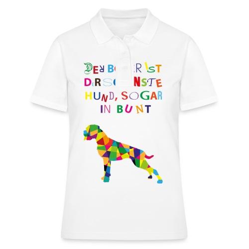 Für Boxerkinder - Frauen Polo Shirt