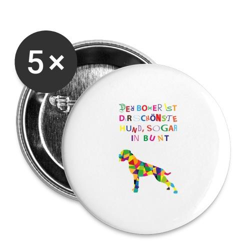 Für Boxerkinder - Buttons mittel 32 mm