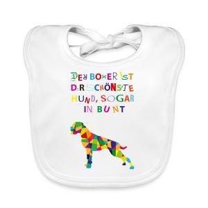 Für Boxerkinder - Baby Bio-Lätzchen