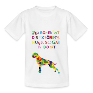 Für Boxerkinder - Teenager T-Shirt