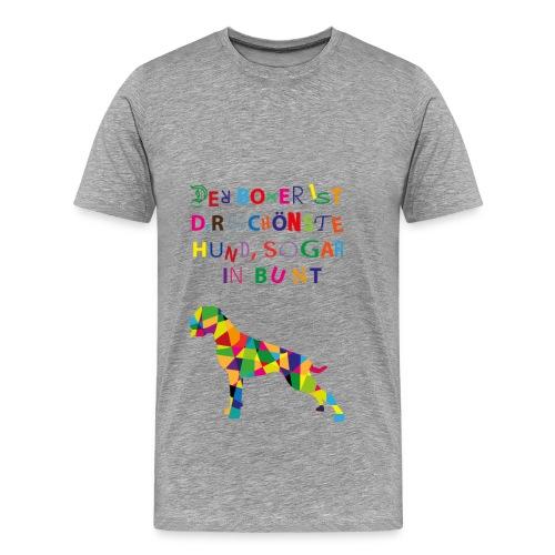 Für Boxerkinder - Männer Premium T-Shirt