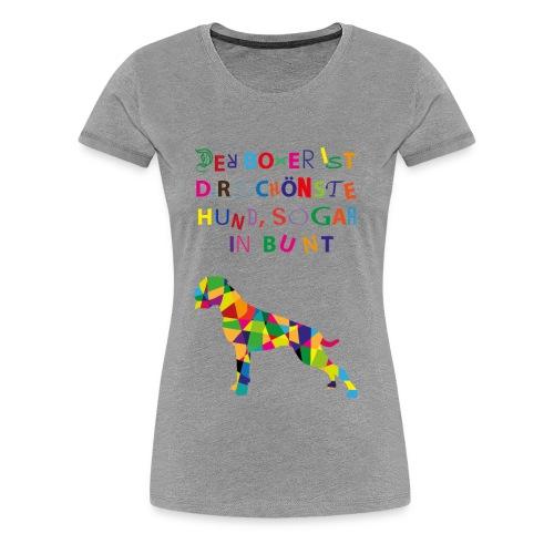 Für Boxerkinder - Frauen Premium T-Shirt