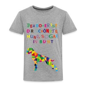 Für Boxerkinder - Kinder Premium T-Shirt