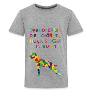 Für Boxerkinder - Teenager Premium T-Shirt