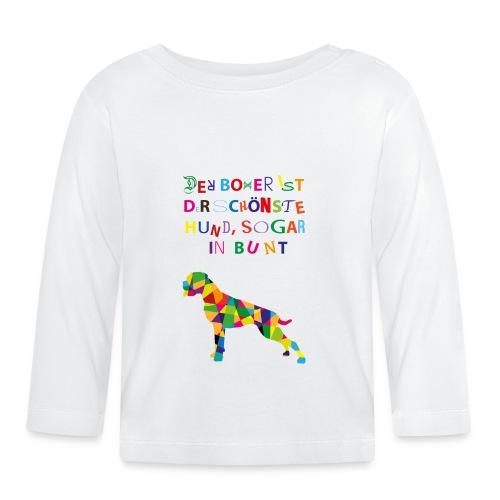 Für Boxerkinder - Baby Langarmshirt