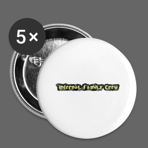 Infernal Family Crew - Buttons/Badges stor, 56 mm