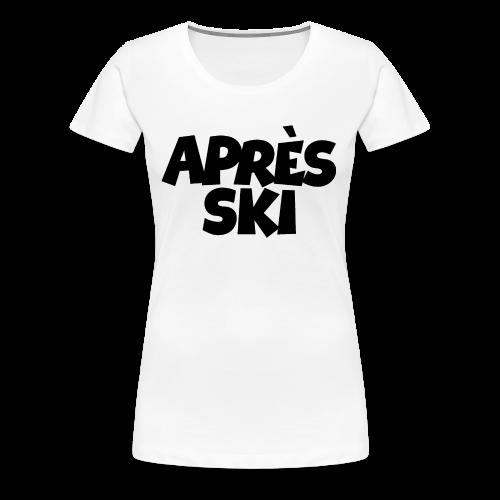 Après-Ski Wintersport Design (Schwarz)