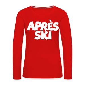 Après-Ski Wintersport Design (Weiß)