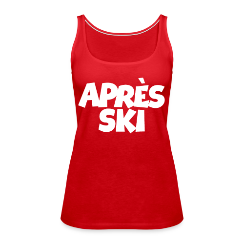 Après-Ski Wintersport Design (Weiß)