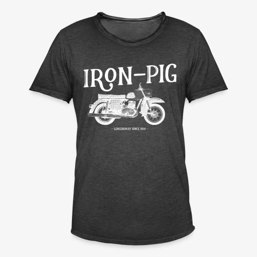 Iron Pig - Männer Vintage T-Shirt