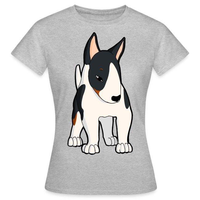 Presentole MaglietteBull Donna Ti Tricolore Terrier Da Maglietta 4jA5LR