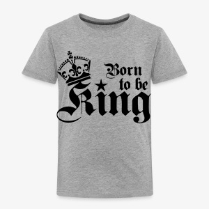 Born to be King Happy Birthday Männer T-Shirt - Kinder Premium T-Shirt
