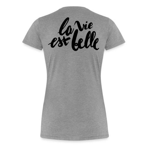 THEOPHILO - T-shirt Premium Femme