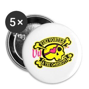 Zippy Hood Skull - Buttons small 25 mm