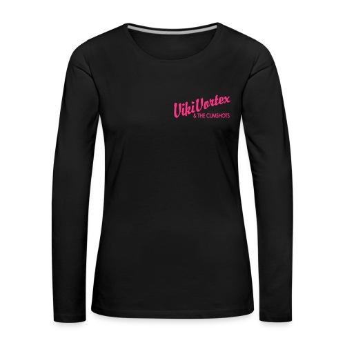 Zippy Hood Skull - Women's Premium Longsleeve Shirt