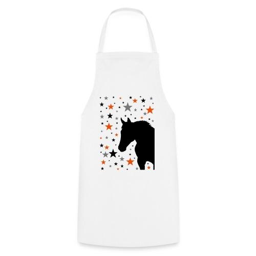 Pferd und Sterne-1 - Kochschürze