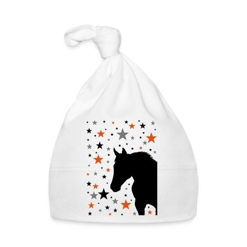 Pferd und Sterne-1 - Baby Mütze