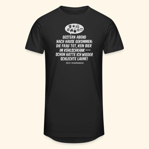 Schlechte Laune - Männer Urban Longshirt