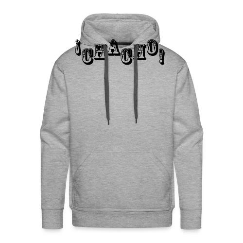 Chacho! white - Mannen Premium hoodie