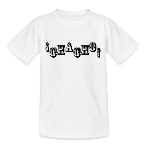 Chacho! white - Teenager T-shirt