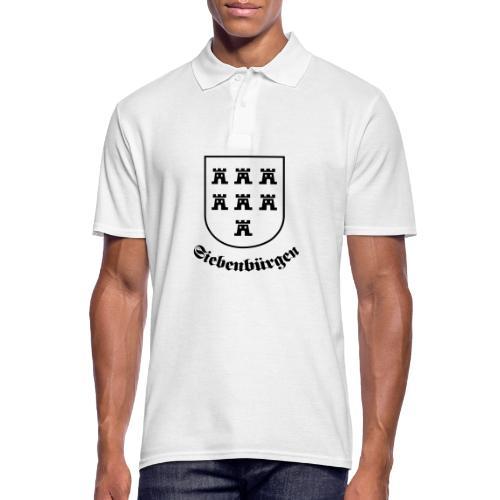 T-Shirt Sachsenwappen Siebenbürgen - Männer Poloshirt