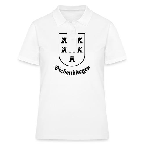 T-Shirt Sachsenwappen Siebenbürgen - Frauen Polo Shirt