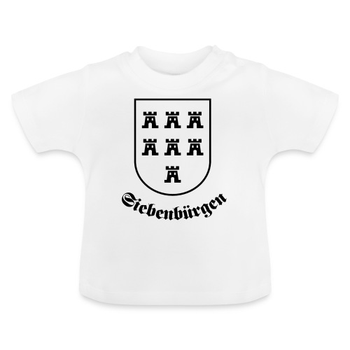 T-Shirt Sachsenwappen Siebenbürgen - Baby T-Shirt
