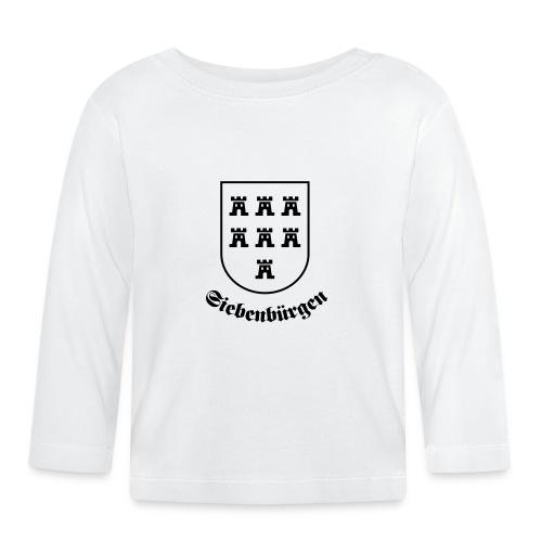 T-Shirt Sachsenwappen Siebenbürgen - Baby Langarmshirt