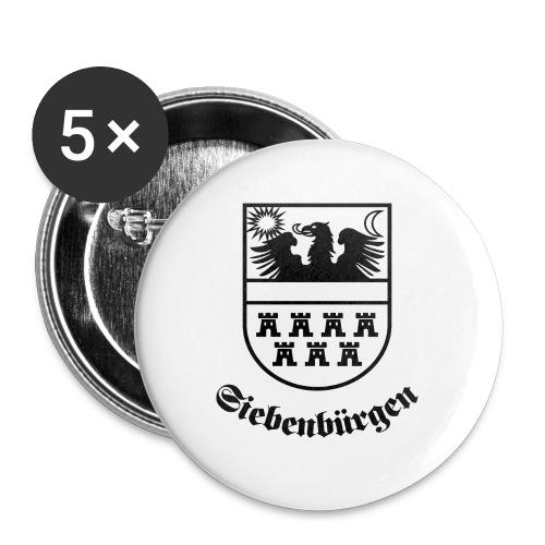 T-Shirt Siebenbürgen-Wappen Siebenbürgen hell - Buttons groß 56 mm