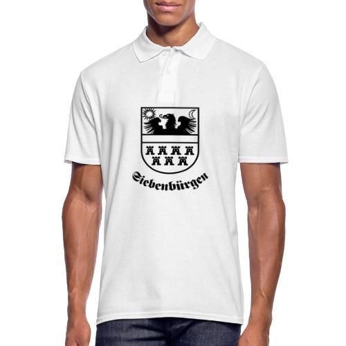 T-Shirt Siebenbürgen-Wappen Siebenbürgen hell - Männer Poloshirt