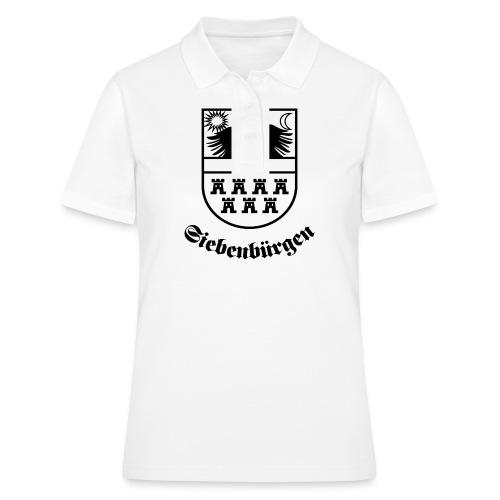 T-Shirt Siebenbürgen-Wappen Siebenbürgen hell - Frauen Polo Shirt