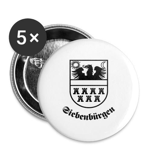 T-Shirt Siebenbürgen-Wappen Siebenbürgen hell - Buttons mittel 32 mm