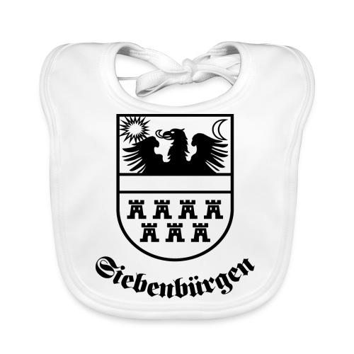 T-Shirt Siebenbürgen-Wappen Siebenbürgen hell - Baby Bio-Lätzchen