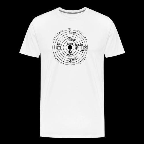Das Zentrum  - Männer Premium T-Shirt