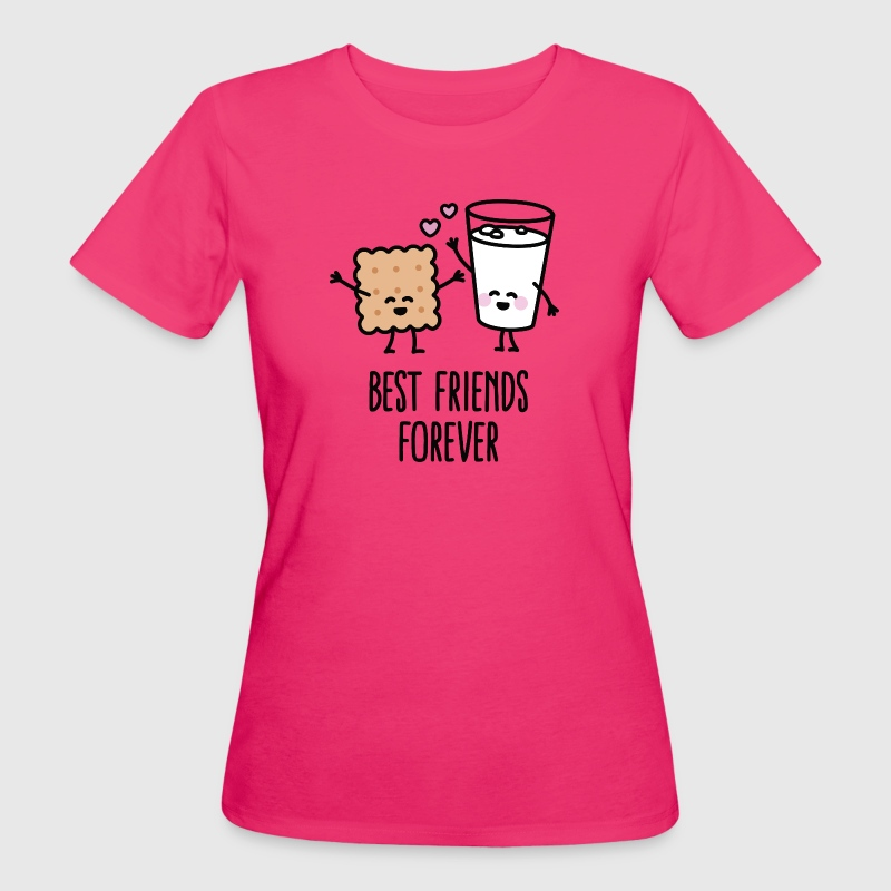 Best friends forever Magliette - T-shirt ecologica da donna