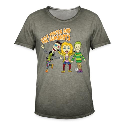 CartoonTee2017 - Men's Vintage T-Shirt