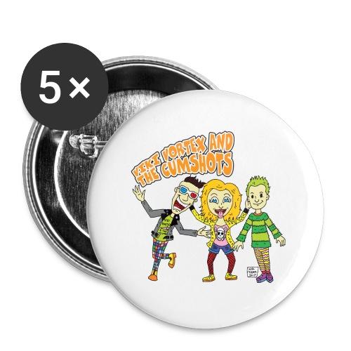 CartoonTee2017 - Buttons large 56 mm