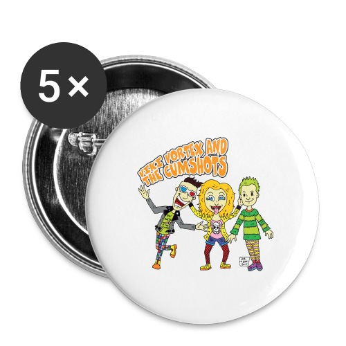 CartoonTee2017 - Buttons medium 32 mm