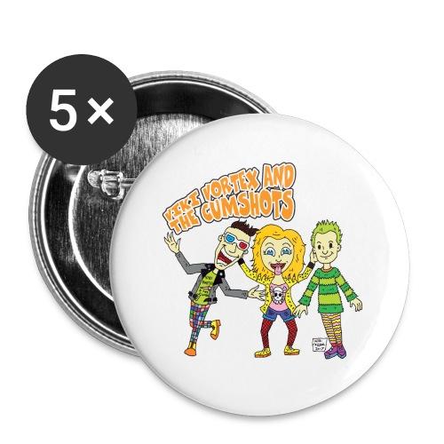 CartoonTee2017 - Buttons small 25 mm