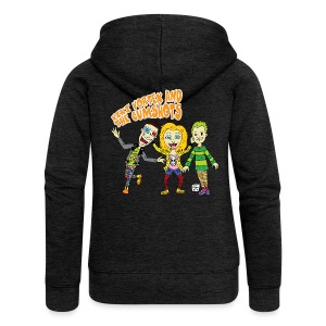 CartoonTee2017 - Women's Premium Hooded Jacket