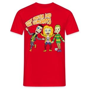 CartoonTee2017 - Men's T-Shirt