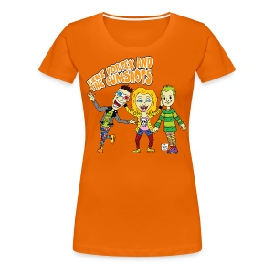 CartoonTee2017 - Women's Premium T-Shirt